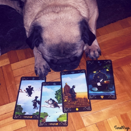 Black Cats TarotPugs 2