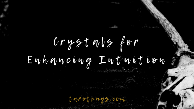 Want to increase your intuition and psychic abilities? Try these crystals to enhance your intuition and psychic abilities; perfect also for divination, tarot readings and psychic readings.