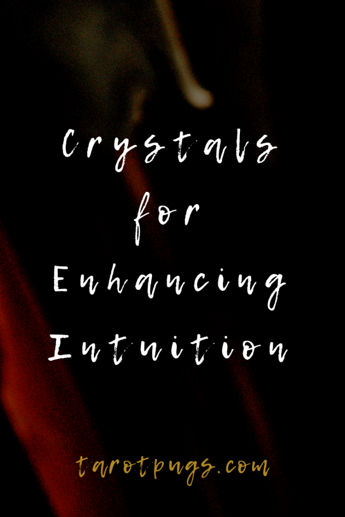 Want to increase/improve your psychic abilities and intuition? Try these crystals for enhancing your intuition; perfect also for divination, tarot readings and psychic readings.