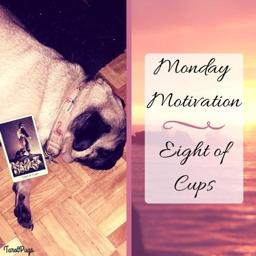 Monday Motivation Eight of Cups TarotPugs