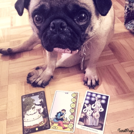 Eight of Pentacles TarotPugs Three Cards