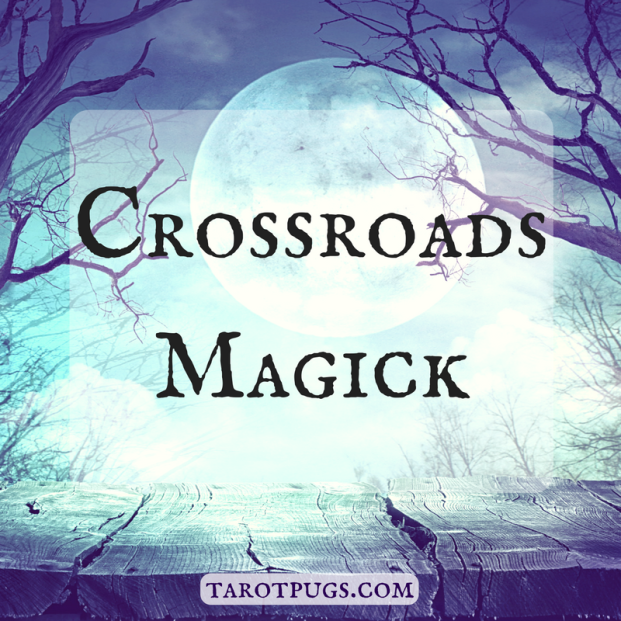 crossroads magick witchcraft wicca hecate tarotpugs