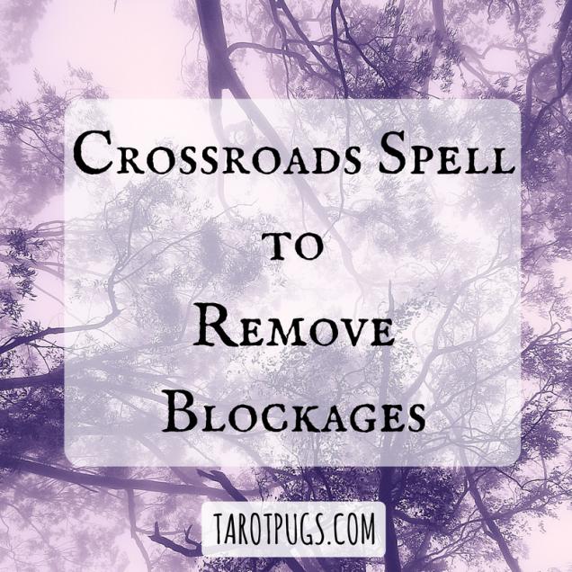 crossroads magick spells witchcraft wicca tarotpugs