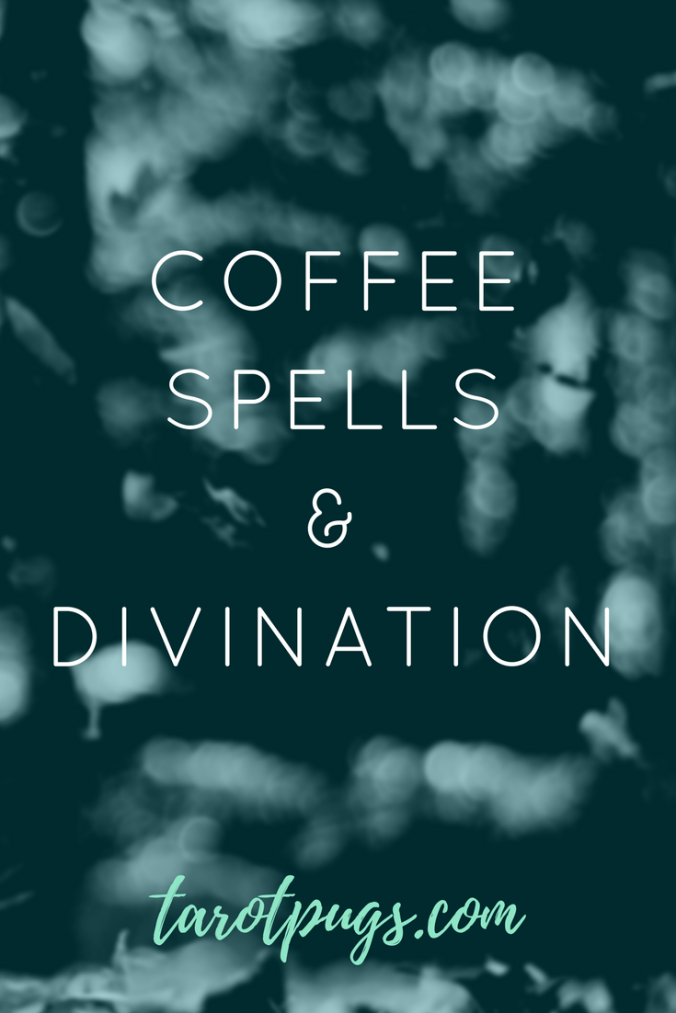 Cast spells and do divination with your next cup of coffee. Practice your witchcraft and divination skills anytime while you have your coffee. Find out how.