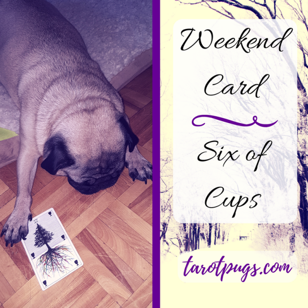 Weekend Pug Tarot TarotPugs Six Cups Wild Unknown