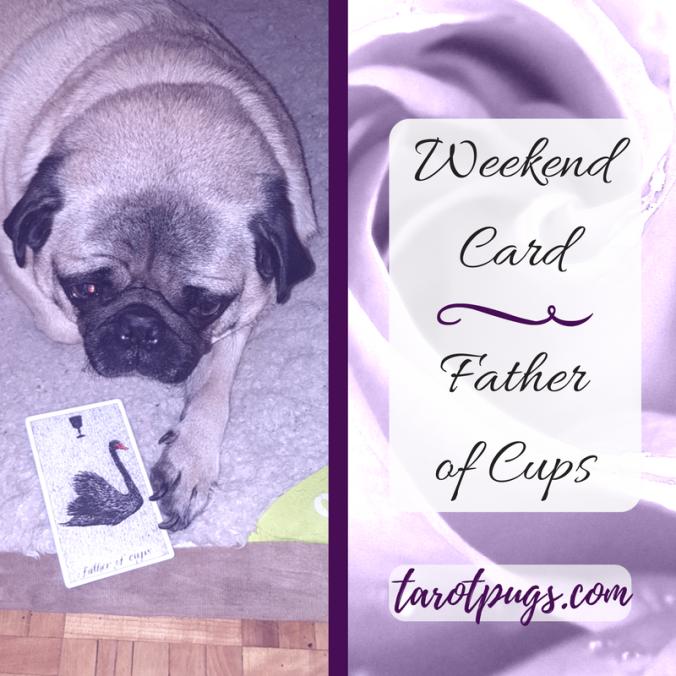 TarotPugs Tarot Pugs Father Cups Wild Unknown Tarot Weekend