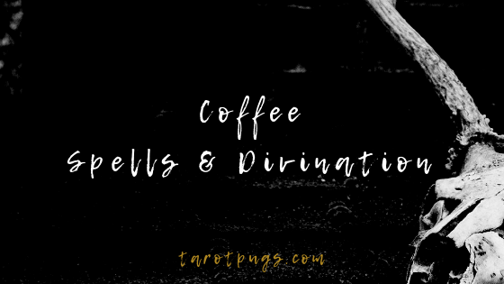 Find out how to use coffee for spells and divination. #witchcraft #coffee