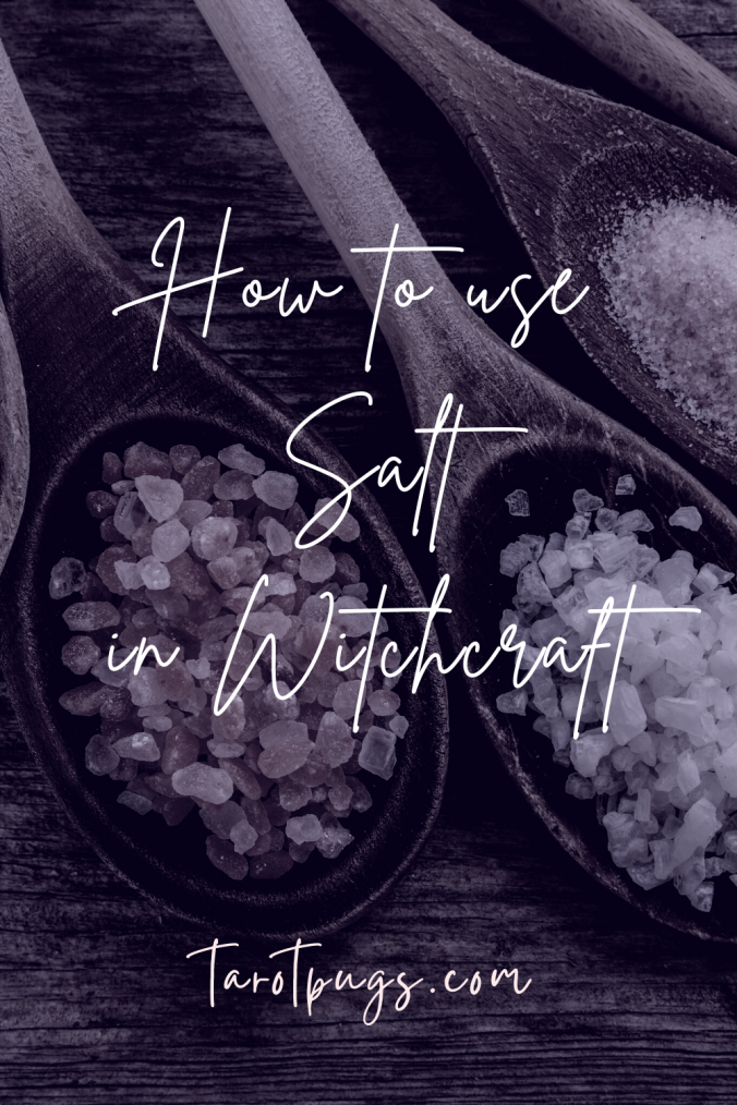 Salt is commonly used in magick and witchcraft. Find out what the different types of salt are and how to use them in witchcraft, spells and magick.
