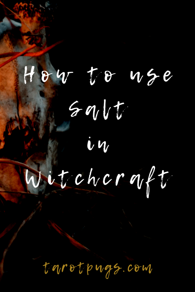 Find out how to use salt in witchcraft and the different types of salt used in magick and spells. #witchcraft