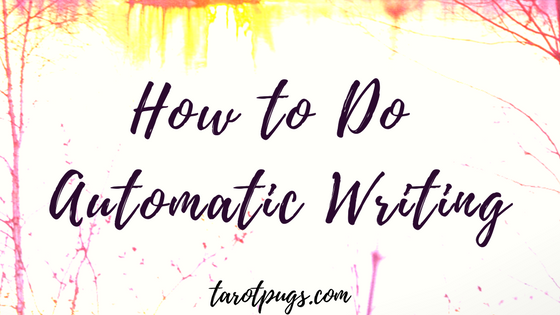 Learn how to do automatic writing to get messages from loved ones in spirit, spirit guides, and your higher self through your psychic abilities and intuition.