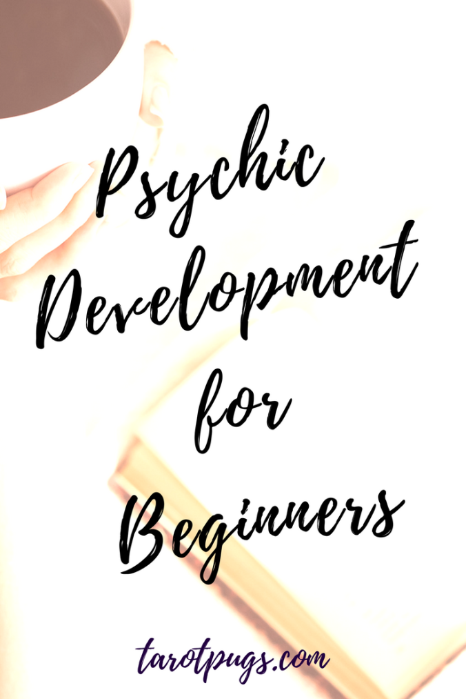 Psychic Development for Beginners - a resource of books and websites to get started and continue learning psychic abilities, mediumship and psychic development.