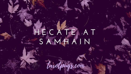 Learn more about Hecate and honouring Her at Samhain, the goddess of spirits, witchcraft, necromancy, crossroads, the moon and magick.
