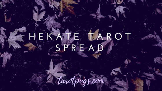 Get messages from the goddess Hekate, goddess of Witchcraft, crossroads, necromancy, spirits, magick and the moon, with this tarot spread.