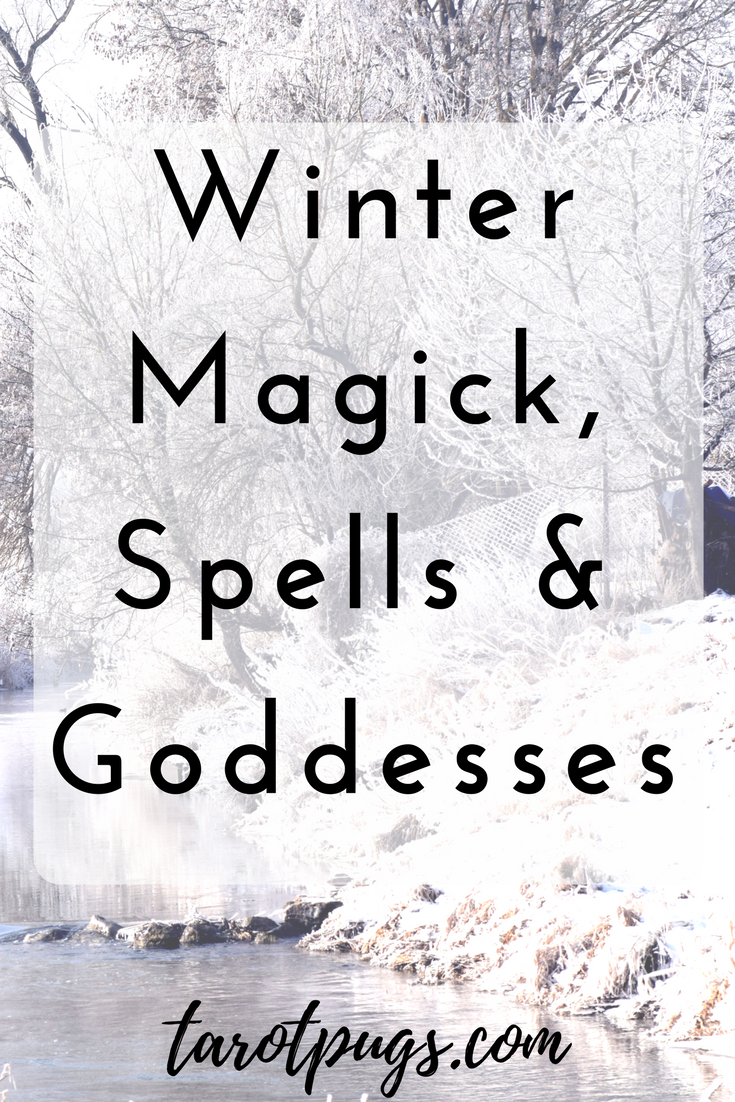 Bring the magick of Yule and winter into your witchcraft practice using winter spells, magick and goddesses of the winter and Yule season.