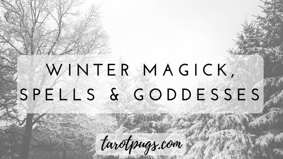 Winter is a magickal time. Add some winter magick, spells and goddesses to your witchcraft practice during this Yule season.
