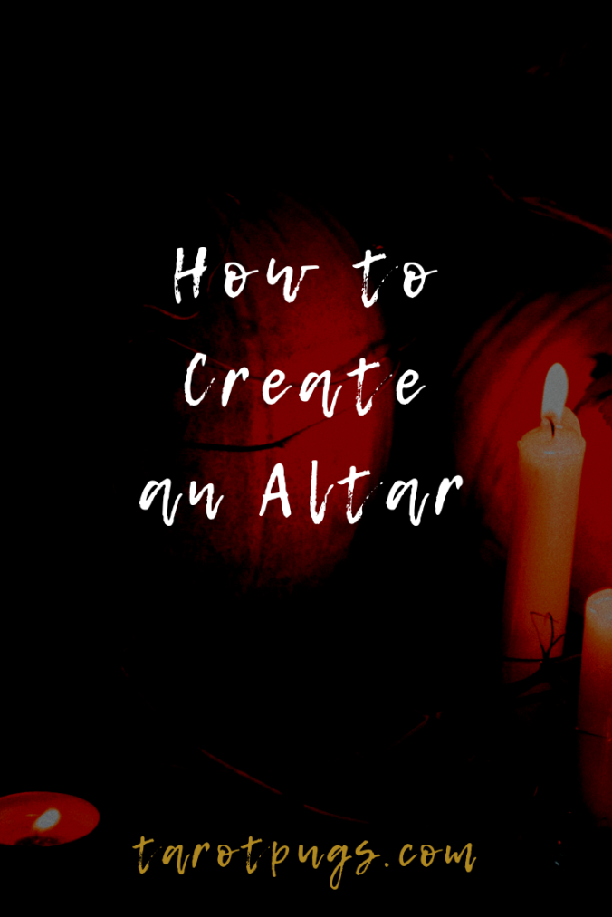 Learn how to create your own altar for your witchcraft practice.
