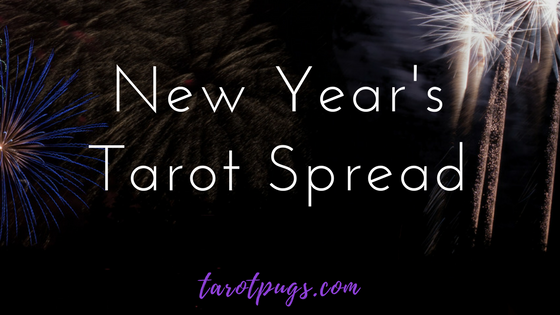 New Year's Tarot Spread. Say goodbye to the old year and ring in the New Year with a New Year;s Tarot Spread to get a glance at the year to come. Happy New Year!