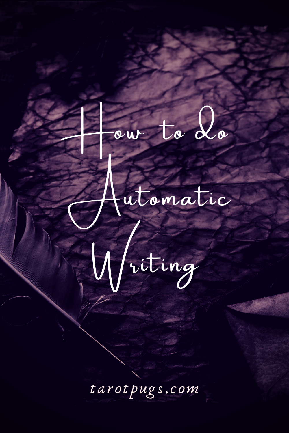How to do Automatic Writing Pinterest Psychic TarotPugs