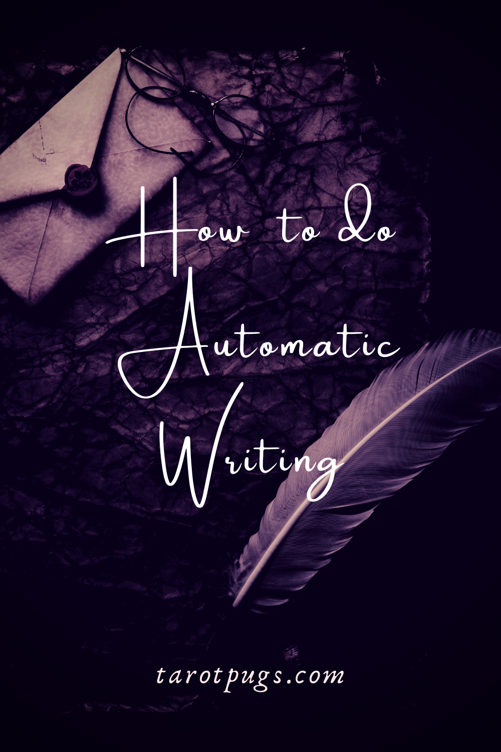 How to do Automatic Writing Psychic TarotPugs Pinterest