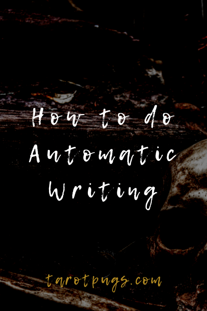 Learn how to do automatic writing. #psychic #mediumship