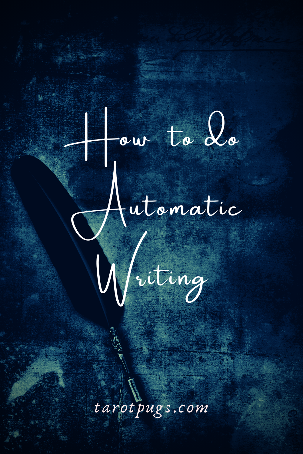 Learn how to do automatic writing to get spirit messages and psychic insights. #psychic #intuition #mediumship