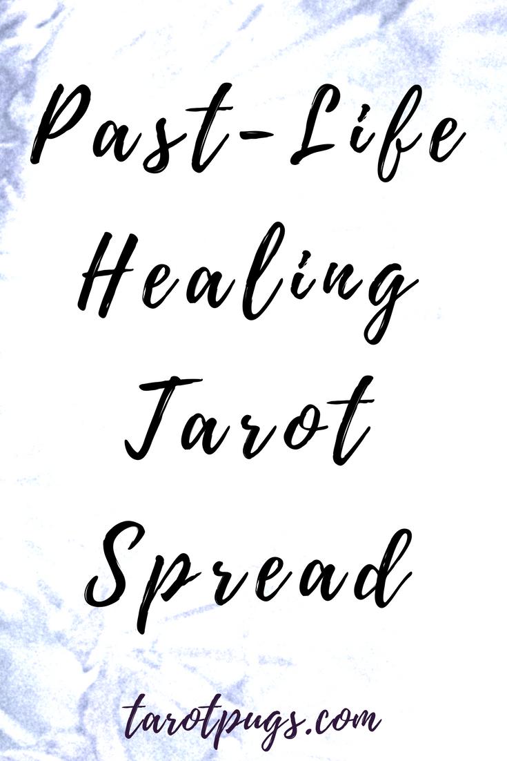 Past Life And Karmic Tarot By Edain Mccoy: Past-Life Healing Tarot Spread