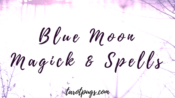 Use the energy of the blue moon the enhance your spells and magick in your witchcraft practice for long term goals.