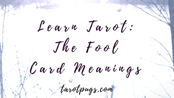 Learn Tarot: The Fool - Keywords for reversed and upright meanings and interpretations for The Fool card.