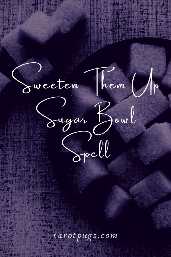 Need to sweeten someone up to you? Try this Sweeten Them Up Sugar Bowl Spell. #witchcraft #magick #spells