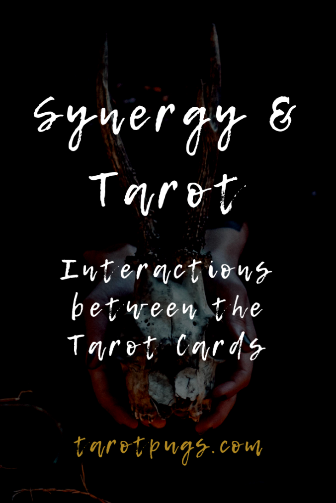 Learn how to interpret the interactions and synergy between tarot cards to improve your tarot readings.