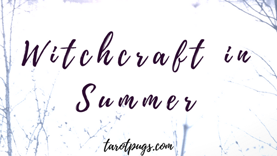 Make the most of summer with your witchcraft using the power of sun, rain, storms, flowers, herbs and ways to magickally protect yourself during the summer.
