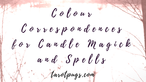 Colour correspondences for candle magick and spells - Find the meanings for 13 colours for use in witchcraft and magick. #witchcraft #magick #spells #candles