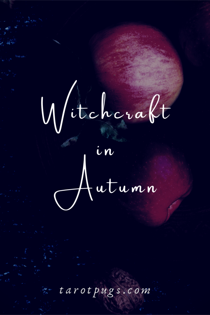 Discover how to use trees, elements even baking and autumnal foods of autumn in your witchcraft practice. #autumn #witchcraft #magick #mabon #samhain