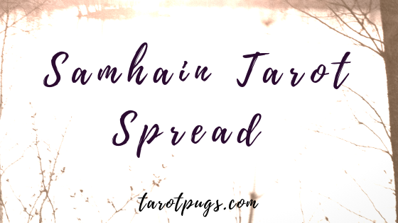 Samhain Tarot Spread - Get ready for samhain, the Witches' New Year, Halloween with this tarot spread - includes links to working with ancestors, spirit communication and dark goddesses. #witchcraft #tarot