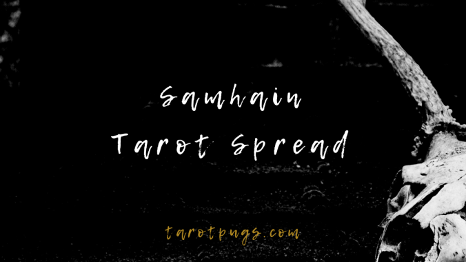Connect with the energy of the season with this Samhain Tarot Spread. #tarot #samhain #witchcraft
