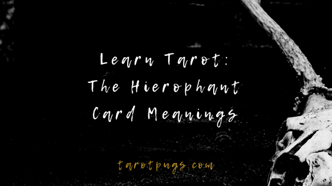 Learn and discover the upright and reversed meanings of The Hierophant card in Tarot.
