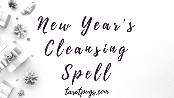 New Year's Cleansing Spell to get rid of the old and welcome the new. #witchcraft #newyear #happynewyear