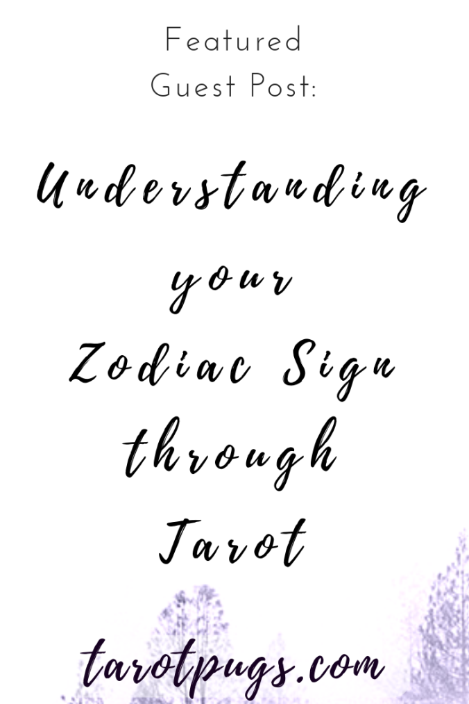 Learn about your zodiac / astrological sign through the major arcana tarot cards. #astrology #tarot