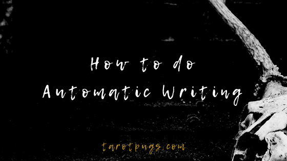 Find out how to do automatic writing. #psychic #mediumship