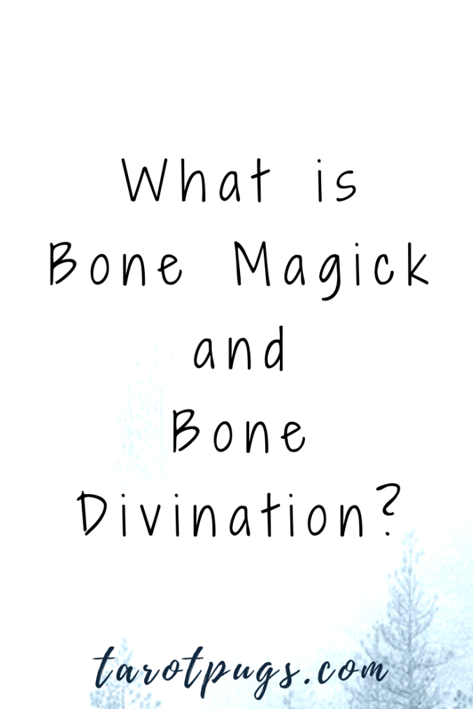 Learn how to use bones in your witchcraft and divination practices. Find out what bone magick and bone divination are. #witchcraft #magick #divination #bones