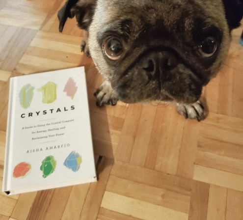 Book Review CRYSTALS by Aisha Amarfio - For crystal healing, well-being and creating harmony.