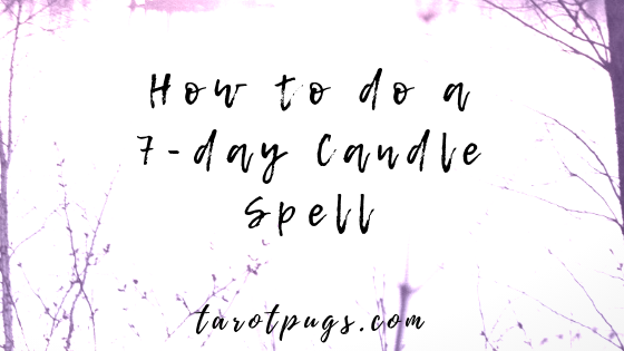 Learn how to do a simple 7-day candle spell with just 3 main ingredients. #witchcraft #magick