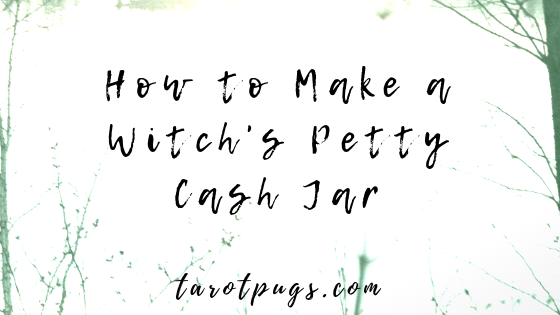 Make a witch's petty cash jar to always have money on hand whenever you need it for small expenses. #witchcraft #magick