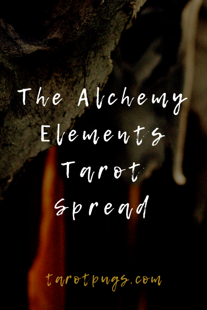 Alchemy, Elements and Tarot combined in this Alchemy Elements Tarot Spread to find your connection to the elements and the Prima Materia. #tarot