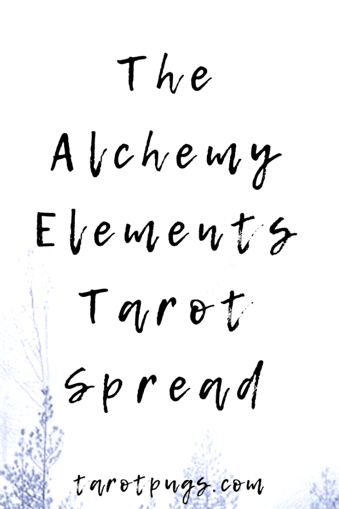 The Alchemy Elements Tarot Spread #tarot #tarotspread #alchemy #elements