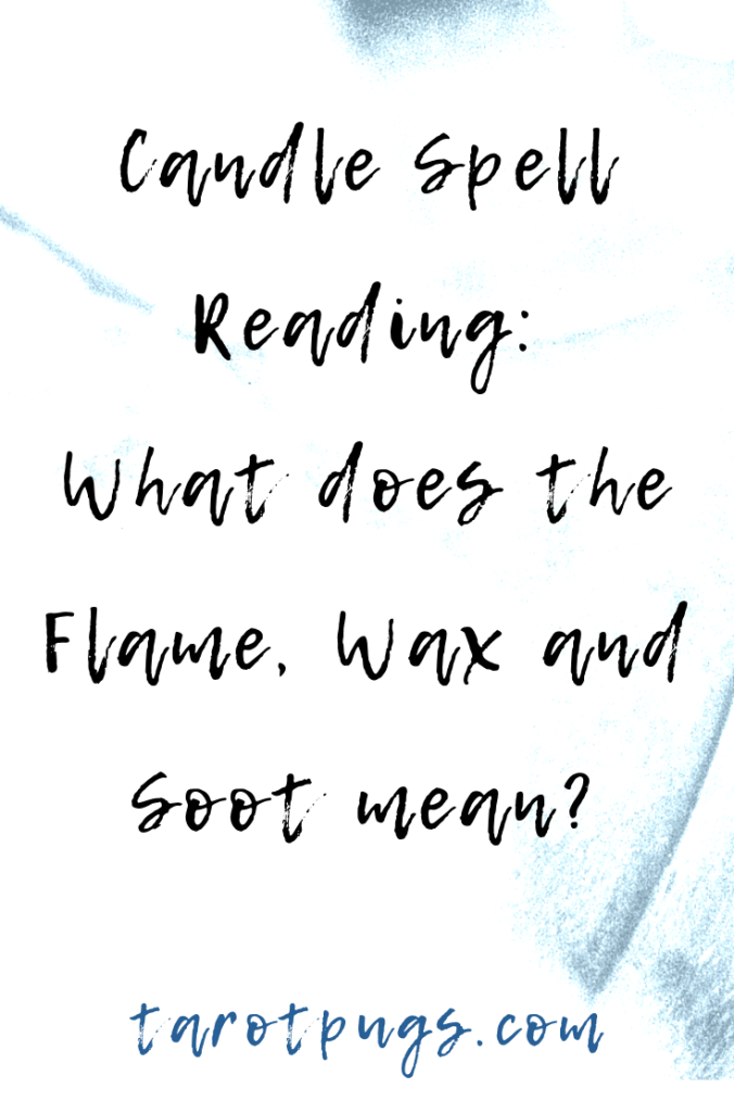 What does it mean when your glass candle spell burns a certain way? Find out what the flame, wax and soot means for the outcome of your spell. #witchcraft #magick