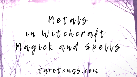 Move over crystals! Find out how metals are used in witchcraft, magick and spells.