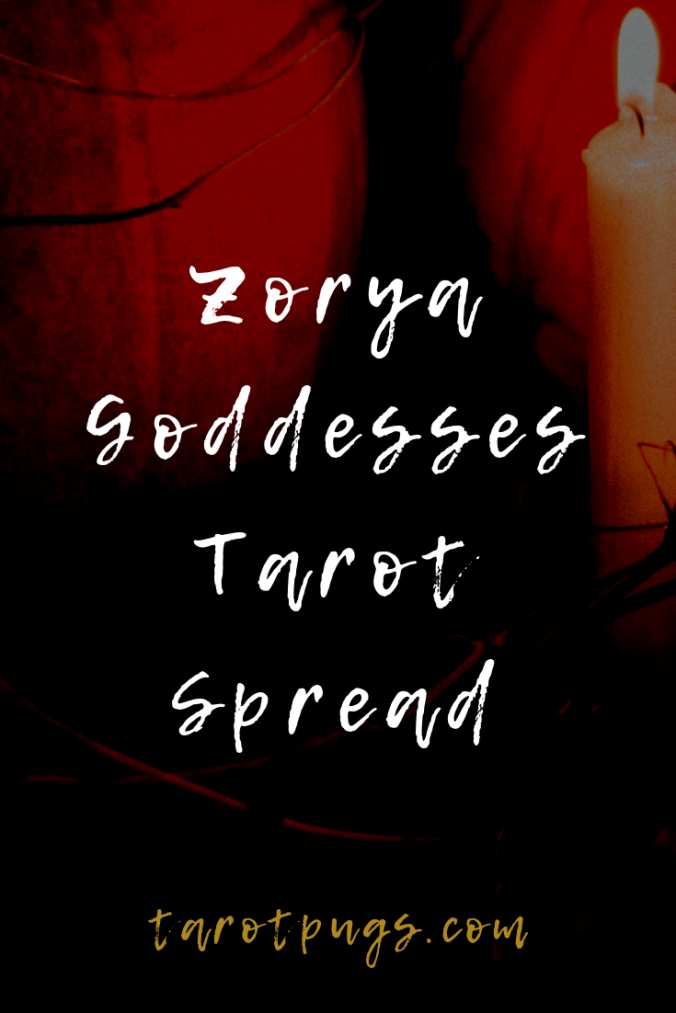 Wisdom from the Slavic goddesses the Zorya with this Zorya Goddesses Tarot Spread.