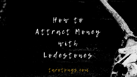 Find out how to use lodestones to bring money towards you. #witchcraft #hoodoo