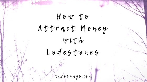 Find out how to get more money and attract money with the use of lodestones. #witchcraft #hoodoo